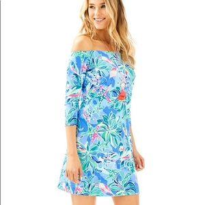 NWT Lilly Pulitzer Laurana Dress Celestial Seas